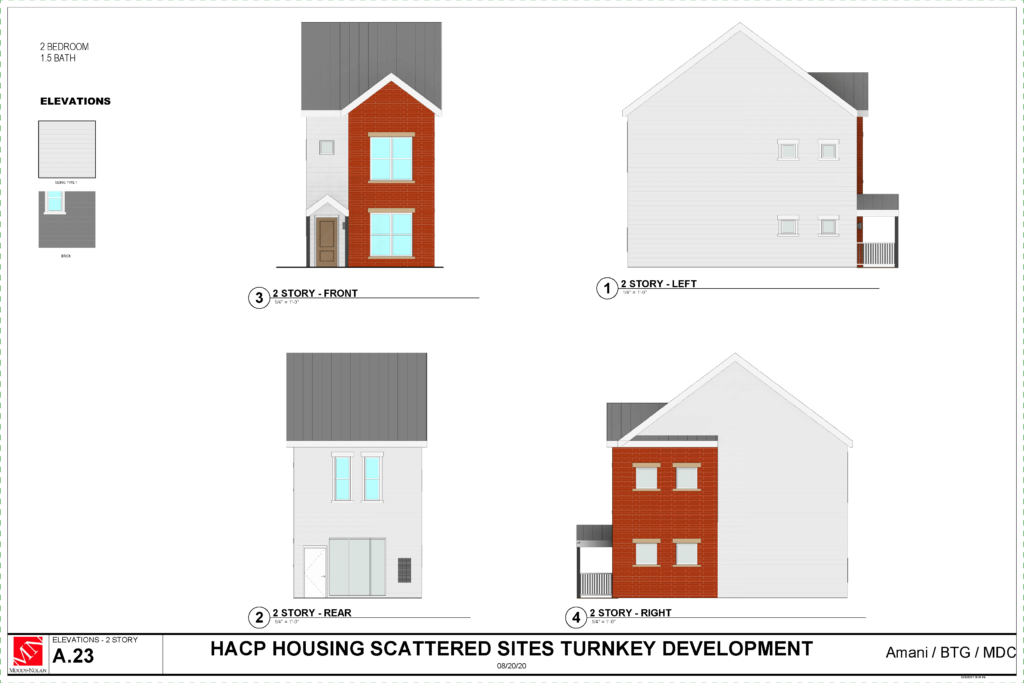 Scattered Sites Project Schematic