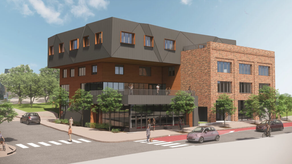 3D Render of Fifth and Dinwiddie East Project