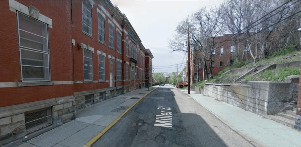 View of Miller School Lofts from Street