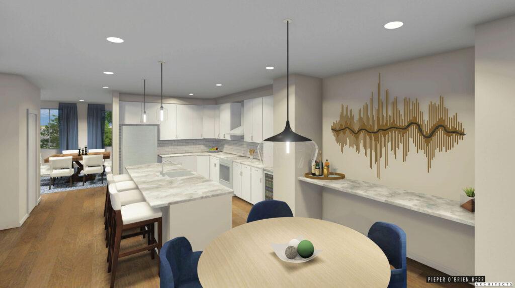 3D Render of Overlook at Westpointe II Project